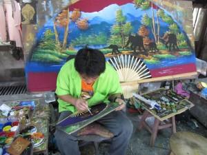 Bosang Umbrella Factory; Chiang Mai